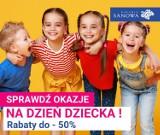 Rabaty w Galerii Sanowa w Przemyślu z okazji Dnia Dziecka