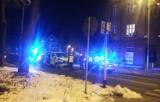 Wypadek w Oświęcimiu. Zderzenie samochodu osobowego z busem [ZDJĘCIA]