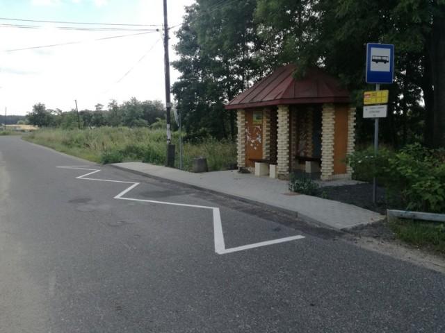 Nowe chodniki w gminie Lubin. To wspólna inwestycja powiatu i gminy