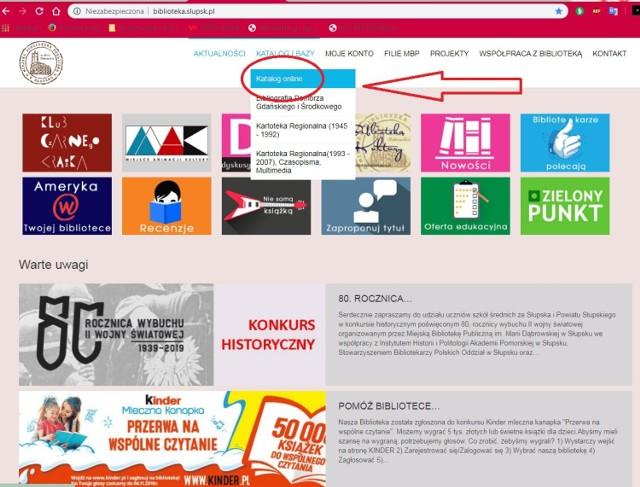 """Od poniedziałku czytelnicy mogą korzystać z najnowszej wersji systemu PATRON, który umożliwia wygodniejsze wyszukiwanie książek i innych publikacji. W naszej galerii przedstawiamy krótki poradnik, jak poruszać się po indywidualnym koncie czytelnika.  Biblioteka zachęca do korzystania z zakładki Moje konto na stronie biblioteki http://biblioteka.slupsk.pl/ Po wybraniu zakładki """"Moje konto"""" czytelnik ma możliwość zarządzania swoim kontem bibliotecznym, czyli może zmieniać niektóre dane, przeglądać swoje wypożyczenia, samodzielnie wykonywać, przeglądać i anulować rezerwacje. To tutaj może wysyłać wiadomości oraz zapytania do biblioteki, a także odbierać odpowiedzi i powiadomienia o bibliotecznych wydarzeniach."""