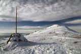 Akcja ratownicza na Baraniej Górze, na 2 st. zagrożenia lawinowego na Babiej