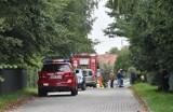 Malbork. Po pożarze w piwnicy na Wielbarku jedna osoba trafiła do szpitala