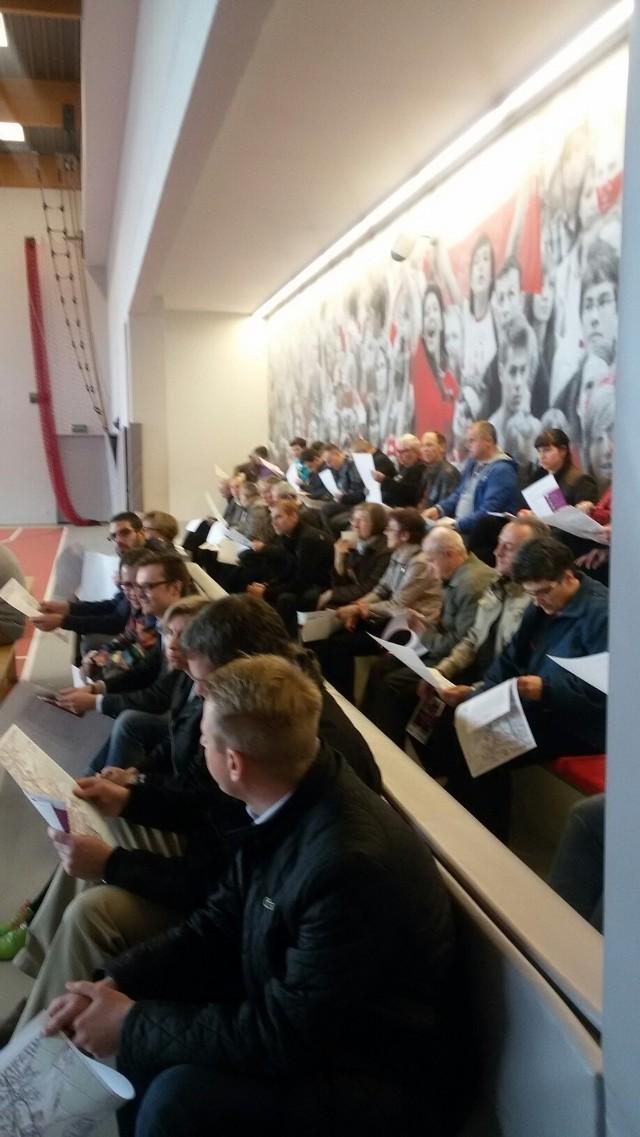 Spotkanie ws. nowej linii tramwajowej na osiedlu Bażantowo