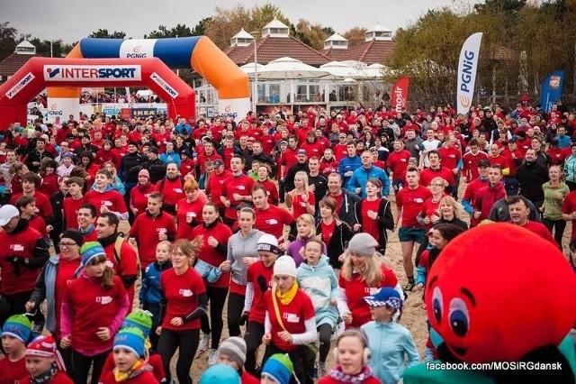 """3 listopada w akcji """"Gdańsk biega"""" wzięło udział  ponad 4500 osób."""