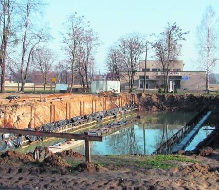 Budowa nowej hali sportowej w Strzebiniu będzie trwać do 2011 roku