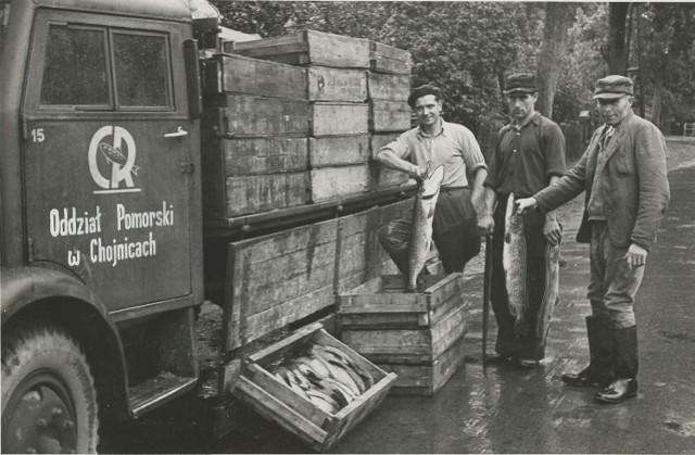 Czaplinek, lata 40 XX wieku