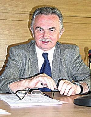 Ludwik Kuboszek, przewodniczący Rady Powiatu.