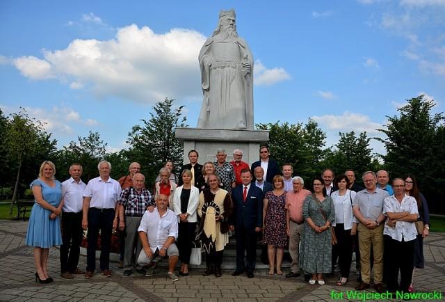 Wspólne zdjęcie uczestników zebrania w Kowalu