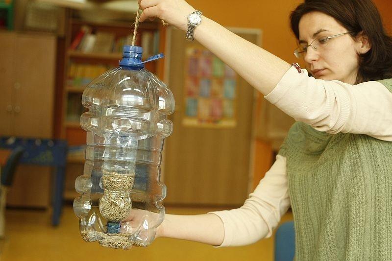 Jak Zrobić Karmnik Dla Ptaków Z Plastikowej Butelki Naszemiastopl