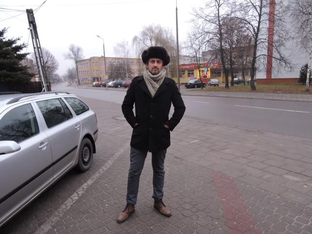 Tomasz Sulima, wiceprzewodniczący rady miasta w Bielsku Podlaskim