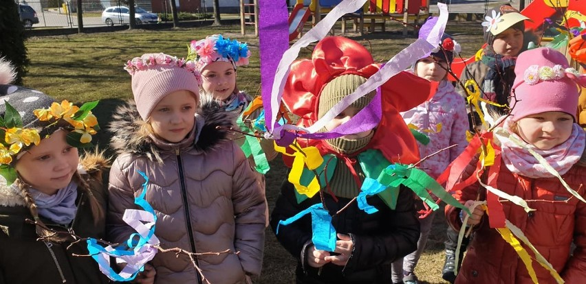 Chodzież: dzieci z Miejskiego Przedszkola nr 5 powitały wiosnę!