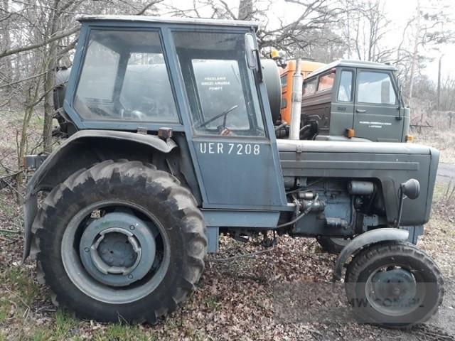 Ciągnik kołowy URSUS C-355 Ilość: 1 NR fabryczny: 238994 Rok produkcji: 1975 Cena: 7500