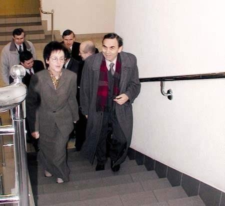 Wojewoda odwiedził także dawny Urząd Wojewódzki w Częstochowie.