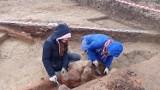 Wrzępia. Archeolodzy odkryli piece do wypalania ceramiki z II-V wieku