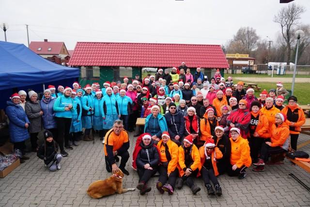III mikołajkowy marsz nordic walking