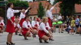 Pokaz zespołów mażoretkowych na Placu Marcinkowskiego w Rogoźnie [ZDJĘCIA]
