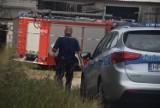 Tragedia w gminie Łubowo. Mężczyzna zginął przygnieciony przyczepą
