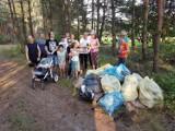 Eko akcja w Budzyniu. Mieszkańcy skrzyknęli się by posprzątać las