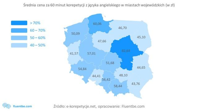 Warszawa. Korepetycje z angielskiego są u nas dwa razy droższe niż w innych miastach