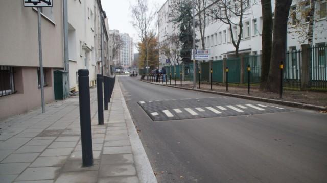 Chodniki wyremontowano m.in. przy ul. Wesołej