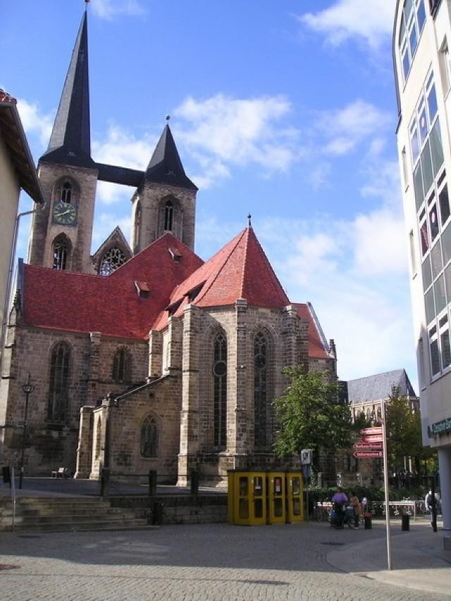 Kościół Liebfrauenkirche w Halberstadt. Fot. A. Wasztyl
