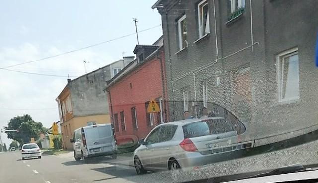 Włocławek - ulica Płocka. Tu prawdopodobnie odnaleziono kradzione audi