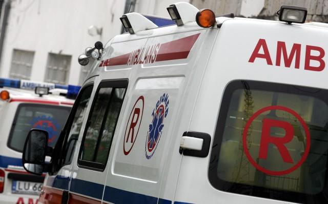 Biłgoraj: 17-latka wypadła z balkonu podczas imprezy