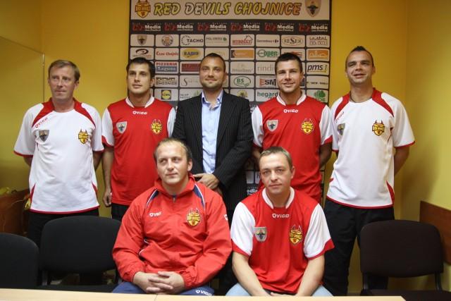 Prezes, obaj trenerzy, nowi zawodnicy oraz kapitan Red Devils Chojnice są optymistami przed nowym sezonem w Ekstraklasie Futsalu