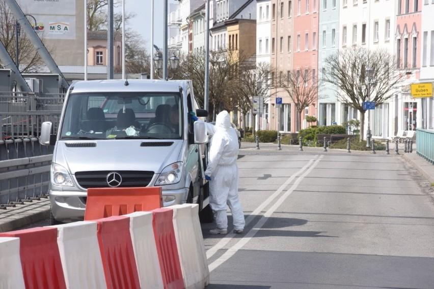 Tak wygląda kontrola przy granicy polsko-niemieckiej w...