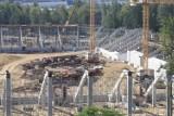 Budowa stadionu i hali sportowej w Sosnowcu - zobacz zdjęcia. Jak postępują prace?