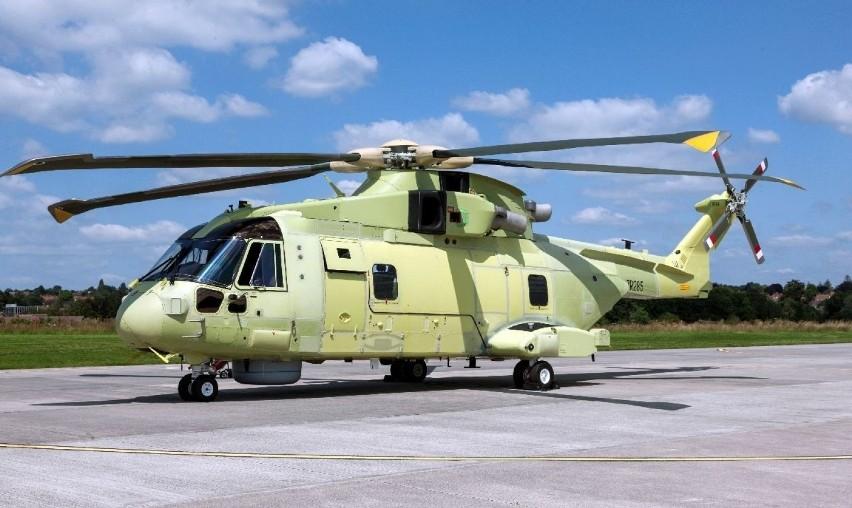 Tak wygląda malowanie polskiego śmigłowca AW101. Pierwszy...