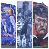 Murale zdobią już ściany świeckich kamienic. Zobacz zdjęcia