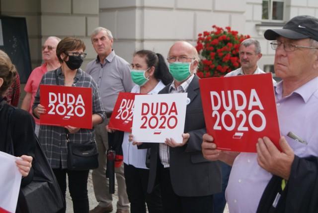 Wybory 2020. Prawo i Sprawiedliwość w Kaliszu podsumowało kampanię Andrzeja Dudy
