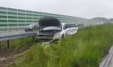 Tragiczny wypadek na A1 na wysokości Pyrzowic. Chciał wystawić trójkąt ostrzegawczy, został śmiertelnie potrącony