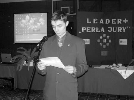 Aleksander Jokel przedstawia propozycję z Kroczyc.