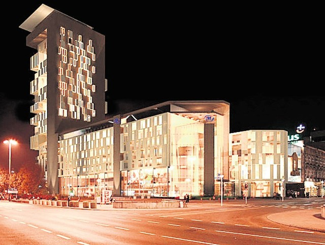 Tak według pierwotnego planu miał wyglądać Hilton przy ulicy Piotrkowskiej