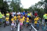Ścieżka pieszo-biegowo-rowerowa nad Kamienicą oficjalnie otwarta