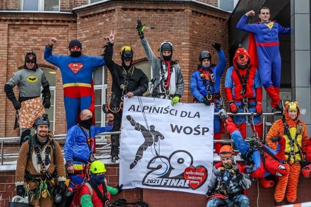 Alpiniści dla WOŚP w Gdańsku