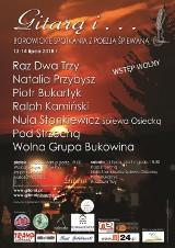 """Festiwal """"Gitarą i … - borowickie spotkania z poezją śpiewaną"""""""