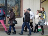 Pierwsza w Polsce gra miejska dla osób niewidomych była w Zduńskiej Woli [zdjęcia i video]