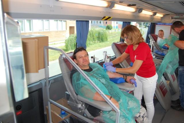Po raz siódmy motocykliści przeprowadzili zbiórkę krwi. Z zaproszenia skorzystało 69 mieszkańców. Zebrano ponad 30 litrów krwi.