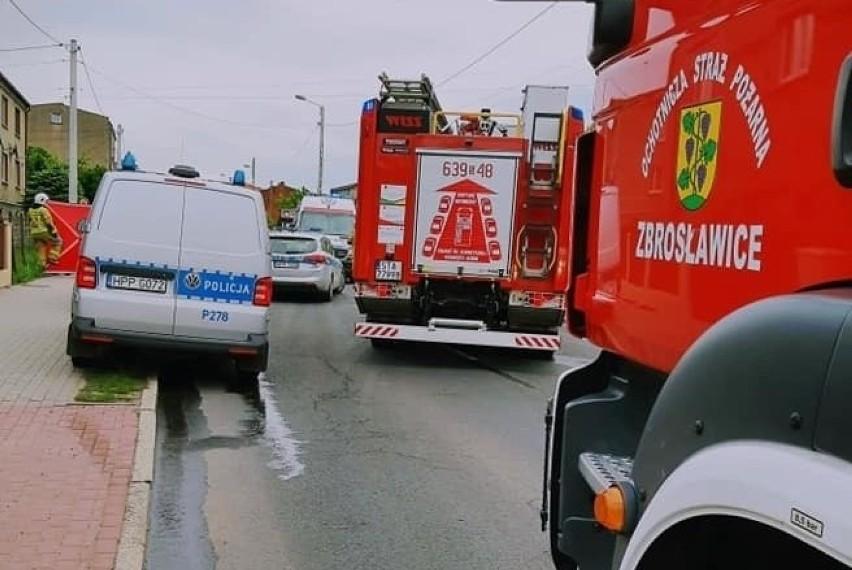 Tragiczny wypadek w Wieszowej. Zginął 68-letni mieszkaniec...