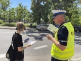 Gniezno. Policjanci zwracali uwagę nieostrożnym pieszym