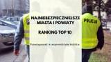 Przestępczość w Łódzkiem. Najniebezpieczniejsze miasta i powiaty w regionie. TOP 10