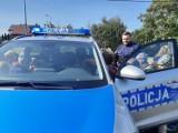 Policjanci spotykali się z najmłodszymi uczniami z powiatu gdańskiego