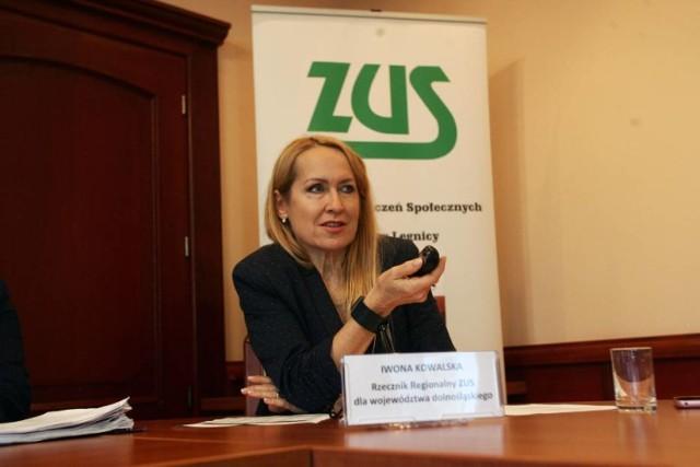 Iwona Kowalska-Matis regionalny rzecznik prasowy ZUS na Dolnym Śląsku