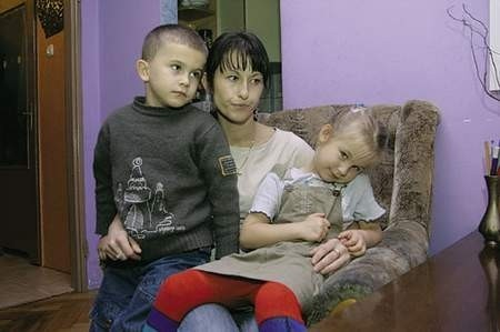 Pani Wioletta i jej dzieci są na skraju wytrzymałości.