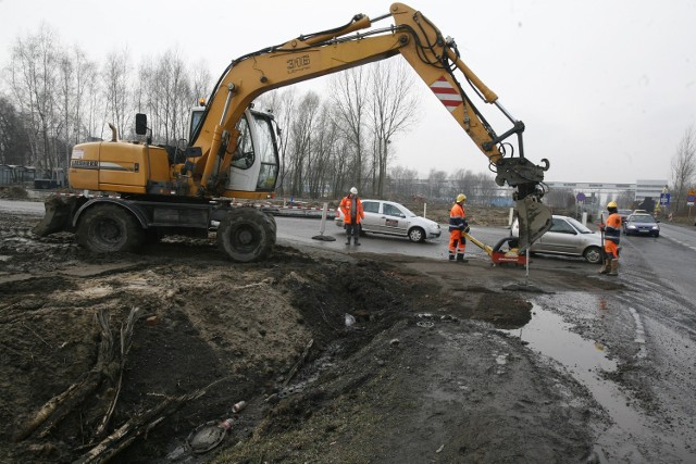 W Zabrzu budowa DTŚ nie jest zbyt uciążliwa. Inaczej jest w Gliwicach. Tu ul. Kujawska