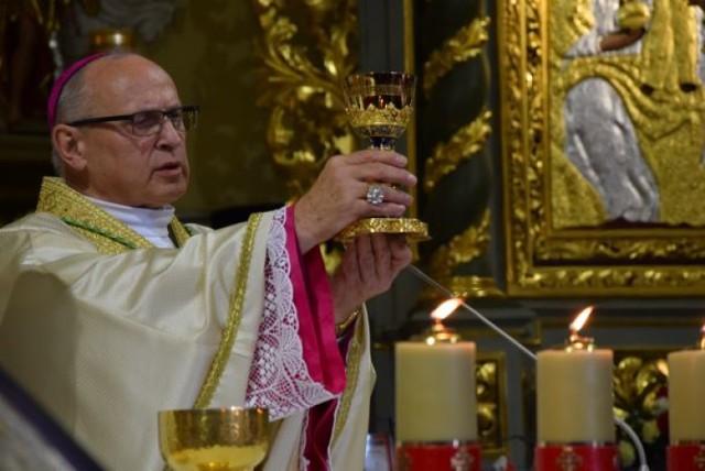 Msza święta dziękczynna za posługę biskupa włocławskiego