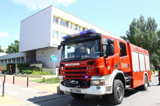 Puławski Urząd Skarbowy oraz sąd ewakuowane